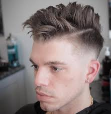 mikes custom kuts high fade and separated choppy hair on top haircut by michael giraldo