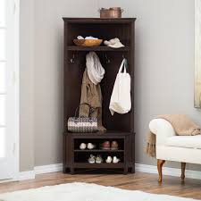 Hallway Furniture Coat Rack Hall Furniture With Shoe Storage Storage Designs 54