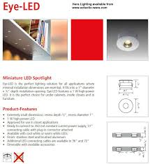 hera lighting eye led tiny high output led light