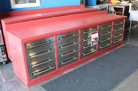 metal workbench with drawers. image 1 : 10\u0027 heavy duty metal work bench with 20 drawers and 40\ metal workbench with drawers u