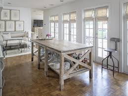 French Kitchen Island Table reclaimed wood kitchen island french kitchen  lisa lu ryan for home design ideas