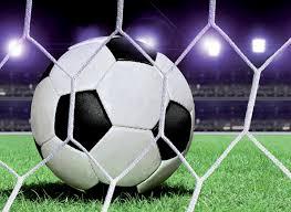 Bolcom Fotobehang Voetbalnet Vlies 152 X 104 Cm