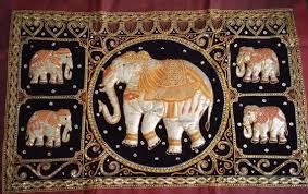 vintage elephant tapestry large