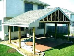 patio simple patio cover ideas plans construction basic covered