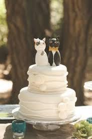 Wedding Cake Topper love cat kitty