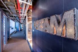 google office tel aviv41. A Glitzy Backlit Sign \ Google Office Tel Aviv41 6