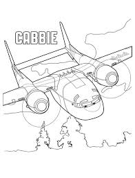 Kleurplaat Planes 2 Cabbie Kid Crafts Printable Coloring Pages