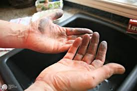 how to clean greasy hands today s