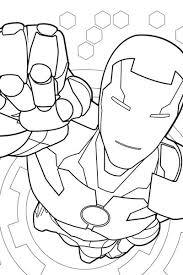Small Picture Iron Man Coloring Page Avengers Activities Marvel HQ