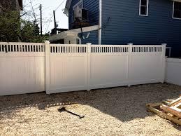 interior Outdoor Garden White Wood Fence Designs Neighbor Semi