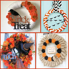 I complied a pinterest board of some of the best Halloween wreath ideas I  found on the web.feel free to check it out and let your creative side take  over.