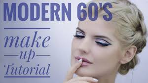 modern 60 s makeup look ilinca wolff
