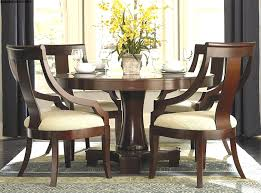 round wood dining table set white round kitchen table modern dining room set with round wood