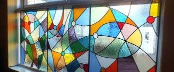 stain glass design stained glass designs for sliding doors