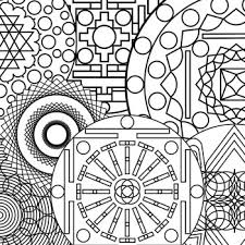 Small Picture Cool Abstract Coloring Pages Mandala Coloring Pictures smart