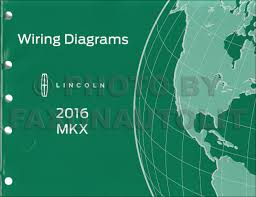 lincoln mkx wiring diagram manual original