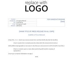 Business Press Release Template Template For Press Release Template Press Release