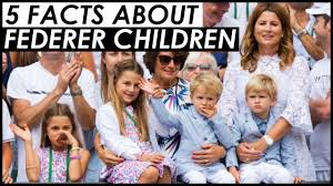 ROGER FEDERER'S CHILDREN 😍 5 FAST FACTS YOU NEED TO KNOW - YouTube