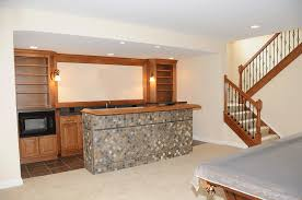 Finished basement lighting Sconce Recessed Lights Work Well Over Bar In Finished Basement With Low Ceilings Light My Nest How To Light Finished Basement Light My Nest