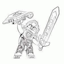 Lego Nexo Knights Coloring Pages Leuk Voor Kids