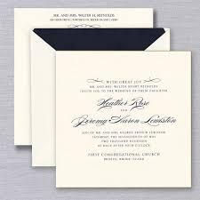 Wedding Invitatiins Gilt Edged Ecru Heavyweight Large Square Wedding Invitations Crane