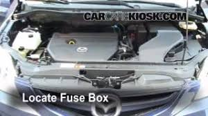 mazda interior fuse check mazda sport l cyl blown fuse check 2006 2010 mazda 5