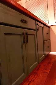 Wood Cabinets With Floors Hickory Stained  Share This W62