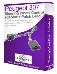 peugeot 307 cd radio stereo wiring harness adapter lead amazon co peugeot 307 car stereo lead adapter connect your steering wheel stalk controls