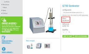Standard Office Equipment List When The List Price Of Lab Equipment Isnt The List Price