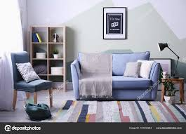 stylish living room comfortable. Wonderful Stylish Stylish Living Room Interior With Comfortable Sofa And Armchair U2014 Stock  Photo Intended Living Room Comfortable T