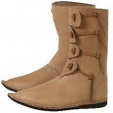 details about meval leather boots ancient shoes warrior renaissance re enactment leather