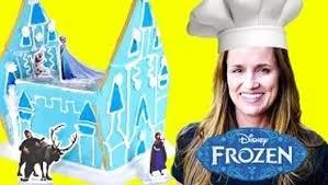Disney Frozen Sugar Cookie <b>Castle Craft Kit</b> DCTC Toy Channel