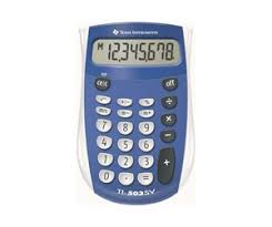 Texas Instruments Ti 503 Sv Lommeregner Günstig