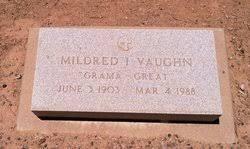 Mildred Iva Mognett Vaughn (1903-1988) - Find A Grave Memorial