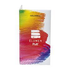 Elumen Play Clear Card Swatch Book Goldwell Usa Cosmoprof