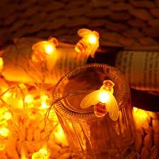 Decorative String Lights Amazon Amazon Com Blinkle 10 Led String Lights Bee Decorative