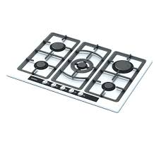 gas stove clipart black and white. white and black gas stove top 3d model- cgtrader. clipart n