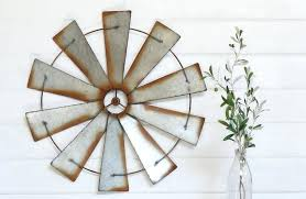 galvanized wall art metal wall windmill galvanized metal wall windmill wall decor wall art farmhouse and