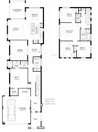 long narrow house floor plans inspirational home plan zone lovely house plans narrow lot with view