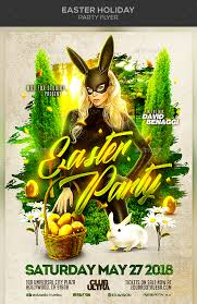 40 Premium Free Easter Party Flyer Templates In Psd For