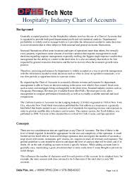 Pdf Hospitality Industry Chart Of Accounts Mahmut Bey