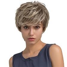 Paruka Na Vlasy Bez Vlasů Přírodní Vlasy Volný Střih Pixie