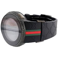 new mens custom black full i gucci digital ya114207 black diamond new mens custom black full i gucci digital ya114207 black diamond watch 2 50 ct