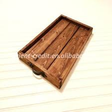 wooden centerpiece tray rustic wooden tray in farmhouse style ottoman breakfast serving tray decorative centerpiece long wooden centerpiece tray