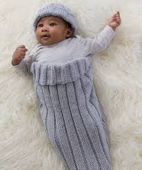 Baby Cocoon Knitting Pattern