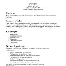 Entry Level Resume Templates Free Entry Level Resume Templates Free Fred Resumes 23