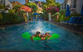 How long is a lap pool Inground Chill Out In The California Sun Swimex Pools La Quinta Resort Club
