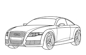 Die malvorlage hat das optimale format, um auf einer din a4 seite ausgedruckt werden zu können. Malvorlagen Audi