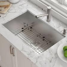 Khu29 Kraus Pax 29 X 19 Undermount Kitchen Sink With Drain