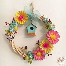 Paper Crafted Flowers Paper Crafted Floral Wreath Souq Uae